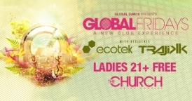 Global Fridays: White Label 002 Cd Relese party @ The Church Nightclub