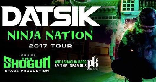 Datsik - Ninja Nation Tour 2017 - Denver, CO | Events
